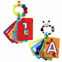 Baby Einstein SET X 2 Letters, Numbers Discovery Cards - Caterpillar & Cow