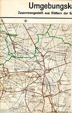 Berkhof Brelingen Bissendorf 1923 Teilkarte/Ln. Elze Gailhof Hope Negenborn