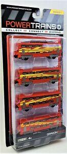 Power Trains Dragon Bullet Trucks SR1 JAKKS Railroad Car Toy Figures 48633
