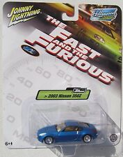 JOHNNY LIGHTNING HOLLYWOOD ON WHEELS THE FAST AND THE & FURIOUS 2003 NISSAN 350Z
