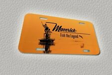 MAVERICK BOAT DECORATIVE LICENSE PLATE
