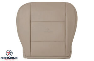 For 1999 2000 2001 Toyota Land Cruiser-Driver Side Bottom Leather Seat Cover Tan