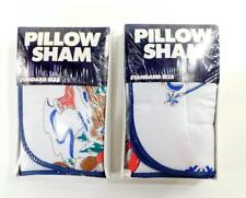 Pair of MAX THE MOOSE Standard Pillow Shams ~ Linens n Things ~ New Old Stock