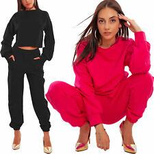Chándal Mujer Deportivo Completo Top Pantalones Algodón Fitness Toocool JL-3053
