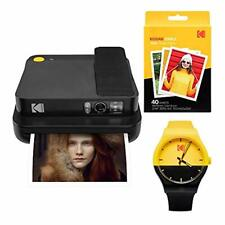 KODAK Smile Classic Digital Instant Camera with Bluetooth (Black) Watch Bundle