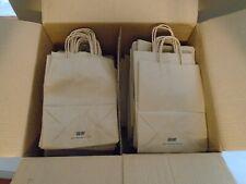 8.Oo X 4.50 X 10.25 Kraft Plain Paper Bag #60 Quanity 170