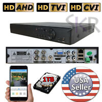 Sikker 4Ch Channel standalone Video Security DVR Camera Recorder System HDMI 1TB