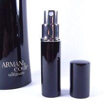 Giorgio Armani Code Ultimate Eau de Toilette 6ml Travel Spray Men's EDP 0.20oz