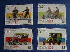 LOT 5130 TIMBRES STAMP TRANSPORTS MACAO MACAU ANNEE 1988