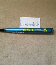 New 2018 Worth Est Comp Balanced 27oz. Wcesba Asa Softball Bat w/ Receipt