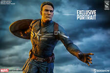 Sideshow Marvel CAPTAIN AMERICA WINTER SOLDIER Exclusive Figure Statue Sealed