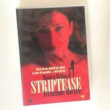 STRIPTEASE ATTRAZIONE MORTALE RARO DVD VENDITA - MONICA BELLUCCI