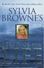 Sylvia Browne's Lessons for Life, Sylvia Browne, Good Condition, Book
