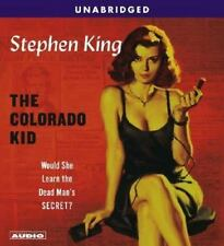 The Colorado Kid by Stephen King (2005, 4-D-CD Set, Unabridged) VG Cnd $29 Value