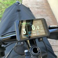 KT LCD8H Meter display with 5pins waterproof connector for ebike KT display