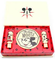 NEW Besame Cosmetics Disney Mickey Mouse 90th Anniversary Lipstick Mirror Set