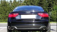 Diffusor für Audi A5 B8 8T Spoiler Heckansatz Cabrio Coupe S-Line Schürze VFL