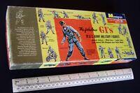 c1960 Vintage Monogram 1/35 The Fabulous GI's. US Army Military Figures + Extras