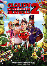 Cloudy with a Chance of Meatballs 2 (+Ul DVD
