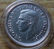 XF 1940 CANADA 800 Silver 25 Twenty Five Cents with new Holder included GeorgeVI