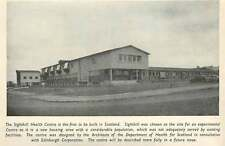 1953 Sighthill Health Center, 1st To Be Built In Scotland