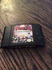 Turok Rage Wars Nintendo 64 N64 Game Cart Works NE5