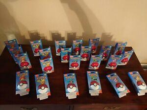 23 x MEGA CONSTRUX POKEMON EVERGREEN POKEBALL Figures Charmander LOT Lego Funko