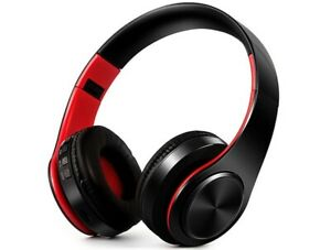 Bluetooth Headphone HIFI Stereo Earphones Music Headset FM and Support SD Card