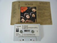 THE BEATLES RUBBER SOUL CASSETTE TAPE 1965 PAPER LABEL EMI PARLOPHONE UK
