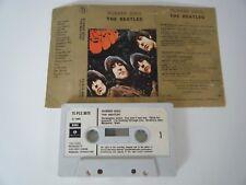 THE BEATLES RUBBER SOUL CASSETTE TAPE 1965 PAPER LABEL EMI PARLOPHONE UK