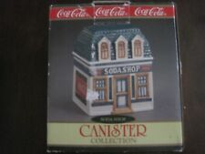 1997 Cavanagh Coca-Cola Soda Shop Canister Collection