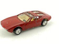 Vintage PLAYART RED MANGUSTA 5000 GHIA de Tomaso #7105
