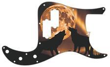 P Bass Precision Custom Pickguard Fender 13 Hole Guitar Scratchplate Mojo Moon
