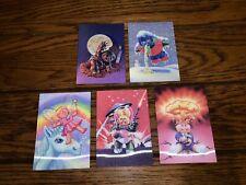 2011 GARBAGE PAIL KIDS FLASHBACK SERIES 2 FB2 3D SUBSET 5 CARDS NM