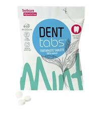 💚 Denttabs Natural Dental Tablets with Flouride 125 tabs