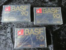 3 Stück BASF Ferrochrom SM cassette 90