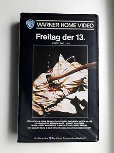 Freitag der 13. (1980) | VHS Video | Warner Softbox | Friday the 13th, Teil 1