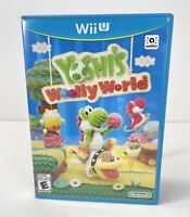 Yoshi's Woolly World Nintendo Wii U Game - Complete - Tested - CIB - FREE SHIP