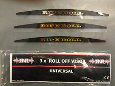 Rip And Roll Barro visera, viseras para total sistema de visión & Roll Off sistemas 3 Pack