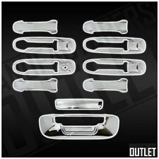 2002-2008 Dodge Ram 1500/2500/3500 4dr Chrome Door Handle Tailgate Cover Trim