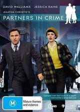 Partners In Crime DVD R4 2015 2-Disc watched once David Walliams Agatha Christie
