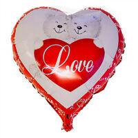 Corazón Rojo I LOVE YOU Feliz San Valentín globos de Papel Aluminio Fiesta Boda