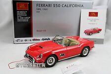 CMC 1:18 scale Ferrari 250 GT SWB California Spyder 1960 Red (M-091) RETIRED!