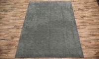 Contemporary Green Modern 8x11 Gabbeh Oriental Area Rug Wool Carpet 11' 5 x 8' 2