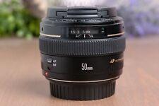 Canon EF 50mm f/1.4 USM AF Prime Lens  with Caps