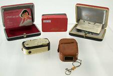 MEC 16 COLOR-ENNIT 2,8/20 Feinwerktechnik miniature box Gold SB Germany RARE /18