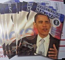 President Barak Obama OFFICIAL INAUGURATION MAGAZINE JANUARY 20TH 2009 INAUGURAL