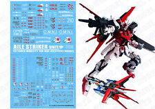 D.L high quality Decal water paste For Bandai PG Strike Rouge+ Skygrasper Gundam