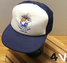 "VINTAGE STATE OF ARIZONA 1912-1987 ""A DIAMOND IN THE ROUGH...A RISING STAR"" HAT"