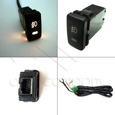 Factory Style 5-pin 12V Fog Light LED Push Button Switch (39mm x 21mm)